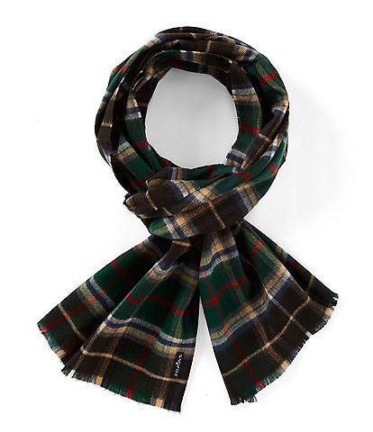 Fraas Men's Plaid Scarf