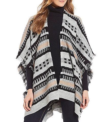 Fraas Multi-Texture Knit Wrap