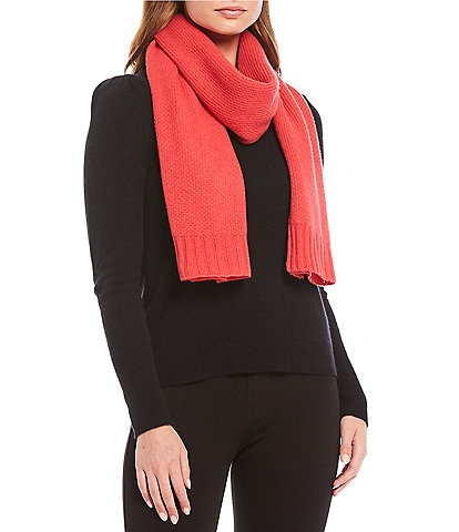 Fraas Women's Honeycomb Knit Cashmere Scarf