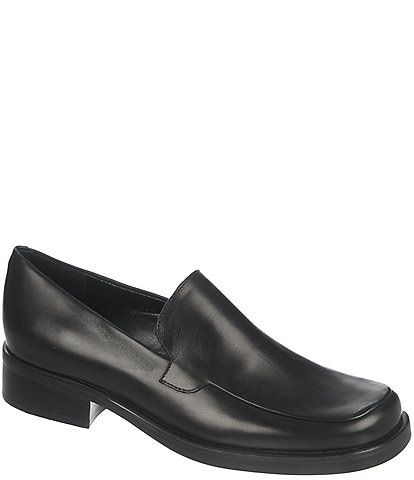Franco Sarto Bocca Block Heel Loafers