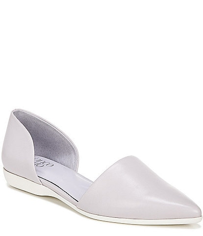 Franco Sarto Darlin d'Orsay Pointed Toe Leather Flats