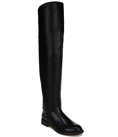 Franco Sarto Haleen Leather Over The Knee Wide Calf Riding Boots