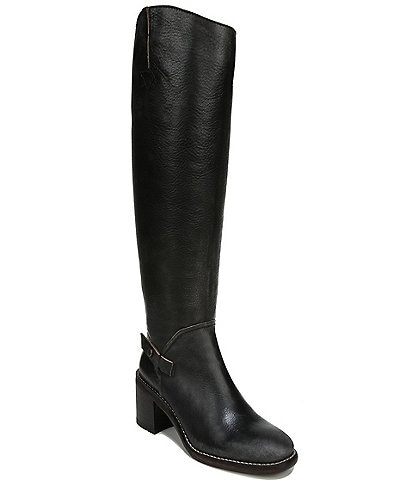 Franco Sarto Kiana Leather Tall Wide Calf Boots