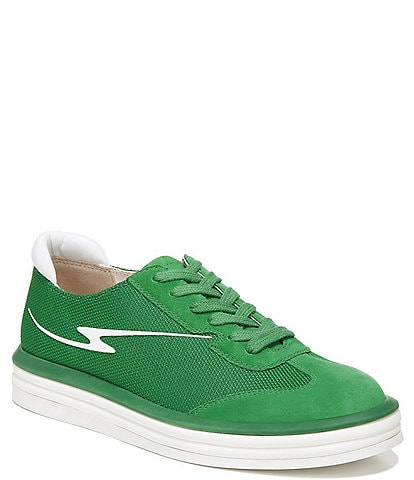 Franco Sarto Lumiere Suede Lace-Up Sneakers