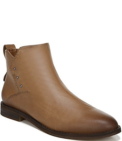 Franco Sarto Owen Leather Western Ankle Booties