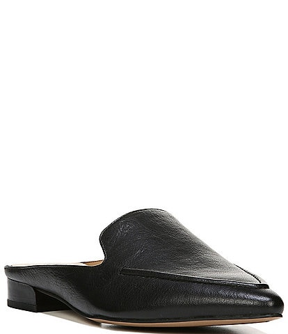 Franco Sarto Sela Leather Loafer Mules