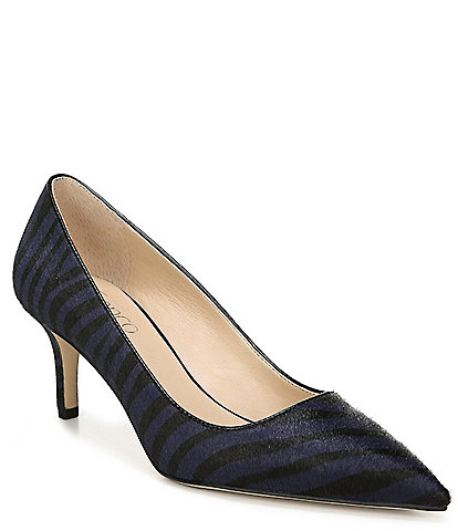Franco Sarto Tudor2 Zebra Print Calf Hair Pumps