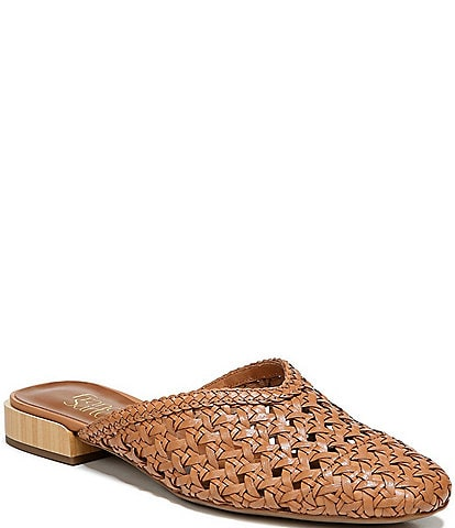 Franco Sarto Van3 Woven Leather Mules