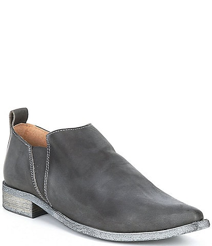 Free People Brixton Leather Booties