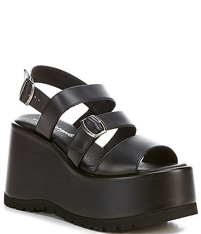 Free People Chelsea Strappy Platform Sandals