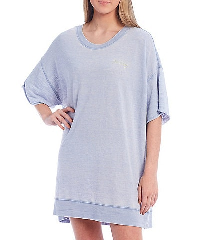 Free People Cozy Cool Girl Lounge Tee