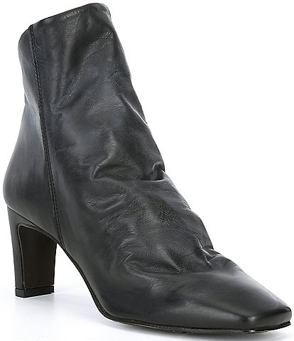 Free People Cybill Leather Booties