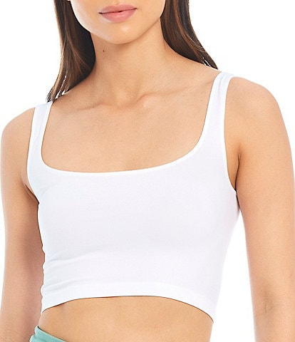 Free People Day Scoop Neck Cropped Brami