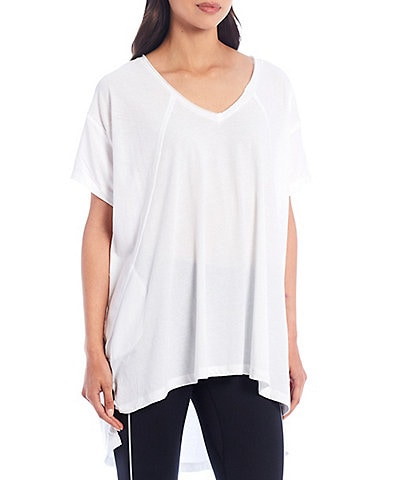 Free People FP Movement City Vibes Oversized Fit Cotton Blend Tee