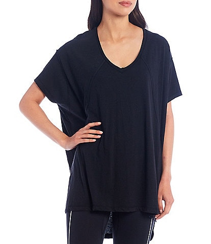 Free People FP Movement City Vibes Cotton Blend Tee