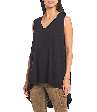Free People FP Movement City Vibes V-Neck Hi-Low Tank