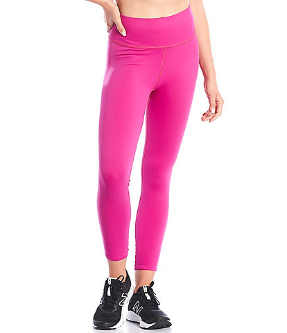 Free People FP Movement Free Throw Elastic Waistband Ankle Length High Rise Pull-On Leggings