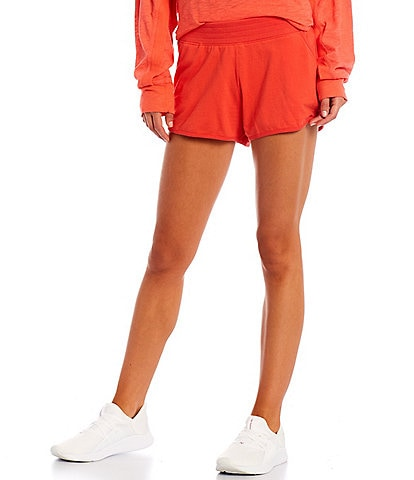 Free People FP Movement High Rise Get Set Pull-On 3#double; Shorts