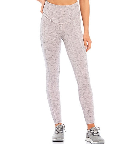 Free People FP Movement Hybrid Exposed Seam Detail High Rise Leggings