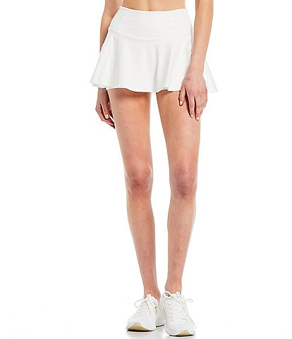 Free People FP Movement Pleats And Thank You Pull-On High Rise Mini Skort