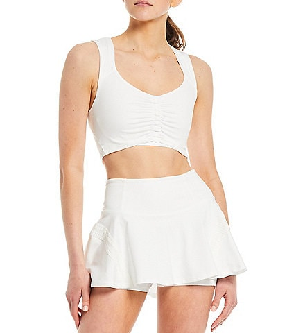 Free People FP Movement Pleats And Thank You Scoop Neck Cami