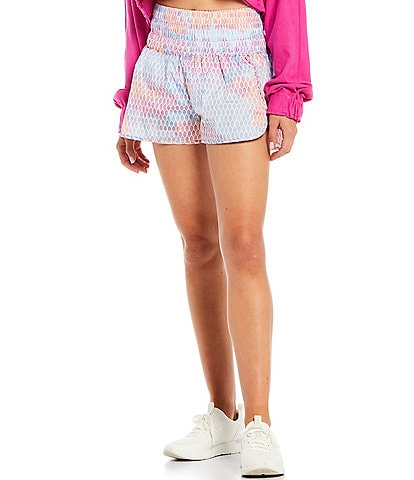 Free People FP Movement The Way Home Elastic Waist High Rise Pull-On Shorts