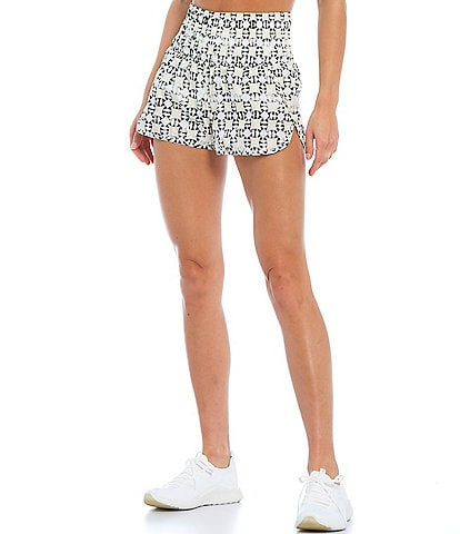 Free People FP Movement The Way Home High Rise Pull-On Shorts