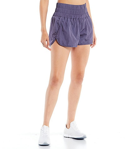 Free People FP Movement The Way Home High-Rise Pull-On Shorts