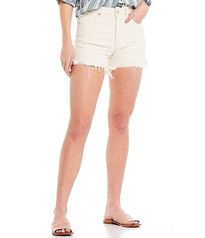 Free People Makai Cut Off High Rise Shorts