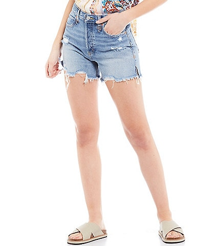 Free People Makai Cut Off High Rise Short