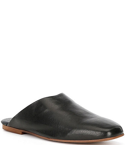 Free People Reese Leather Flat Mules