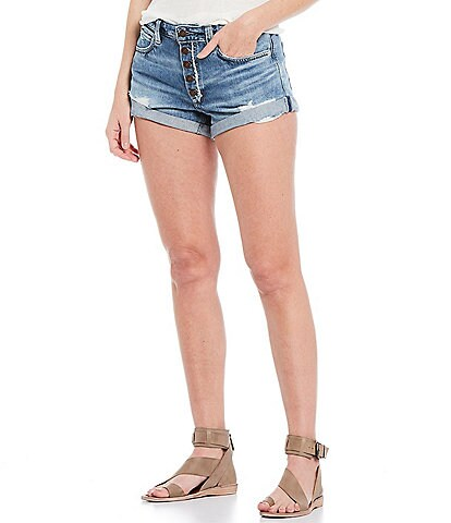 Free People Romeo Rolled Cut-Off Short