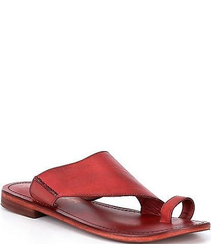 Free People Sant Antoni Leather Sandals