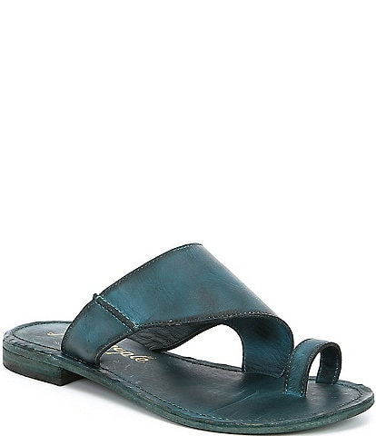 Free People Sant Antoni Leather Sandals