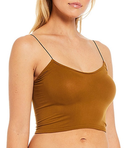 Free People Intimately FP Seamless Cropped Cami