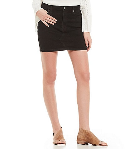 Free People Teagan Denim Mini Skirt