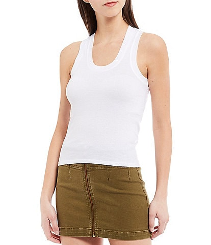 Free People U-Neck Knit Tank