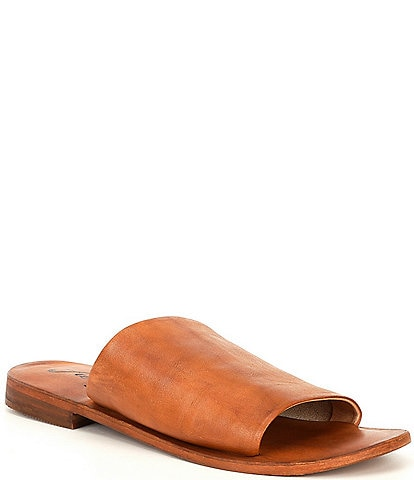 Free People Vicente Leather Slide Sandals