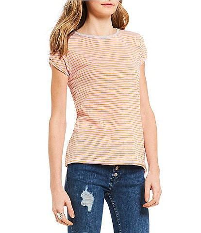 Free People We the Free Stripe Clare Tee