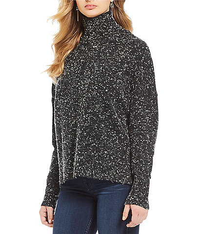 French Connection Farah Wool Mock Neck Sweater
