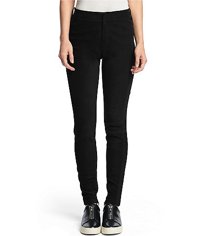 Frye Campus Stretch Leather Legging Pants