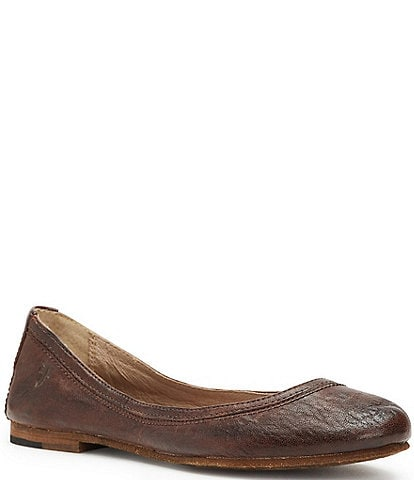 Frye Carson Antique Leather Flats