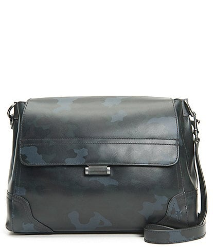 Frye Charlie Flap Leather Shoulder Bag