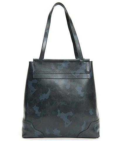 Frye Charlie Simple Camouflage Leather Tote Bag