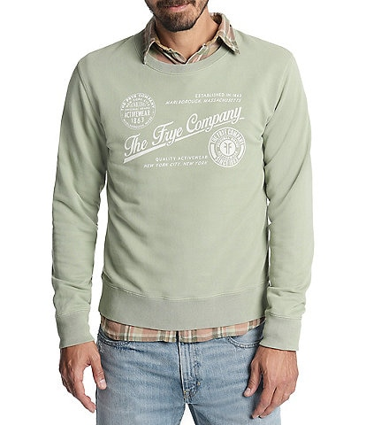 Frye Dry Goods Crew Long-Sleeve Fleece Sweatshirt