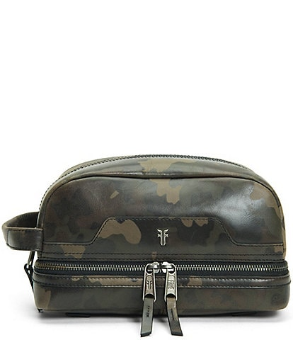 Frye Holden Camo Leather Travel Case