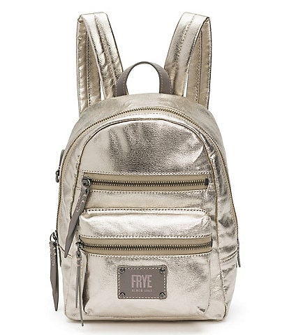 Frye Ivy Metallic Mini Backpack