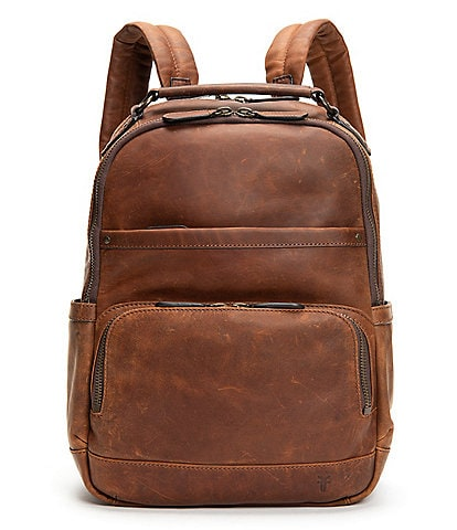 Frye Logan Burnished Leather Backpack