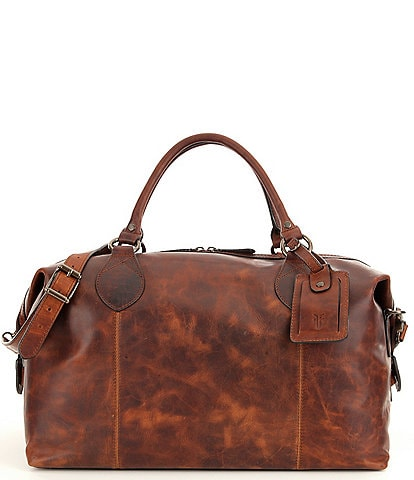 Frye Logan Overnight Leather Bag