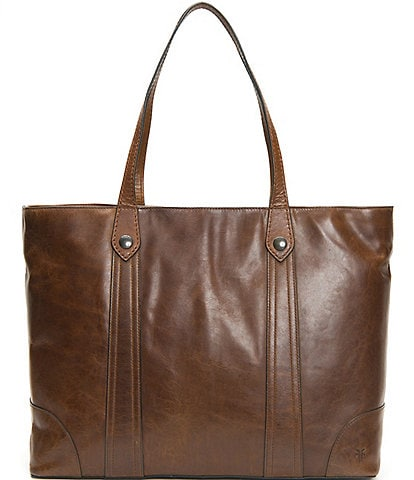 Frye Melissa Antique Leather Traveler Tote Bag